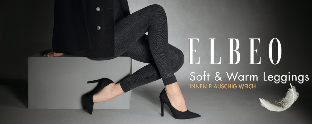 Elbeo Elegance Soft Warm Leggings Zebra
