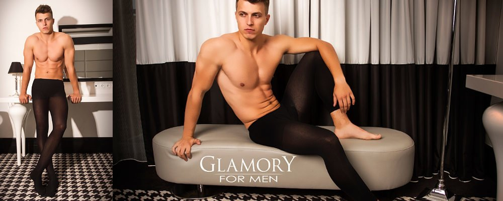 Glamory tights for men