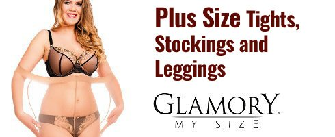 Plus Size Tights, Stockings and  Leggings