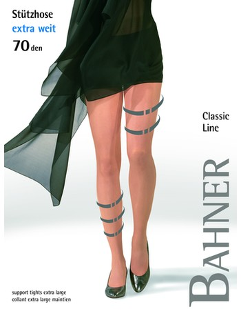Bahner Compression Tights Plus Size 70