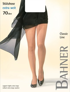 Bahner Classic Line Plus Size Compression Tights