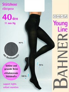 Bahner Young Line 40 Compression Tights Compression 2
