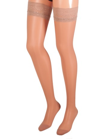 Bahner Classic Line 70 Support Stockings Compression 3 pearl