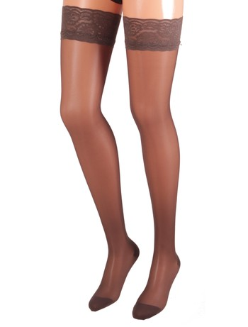 Bahner Classic Line 70 Support Stockings Compression 3 mocca
