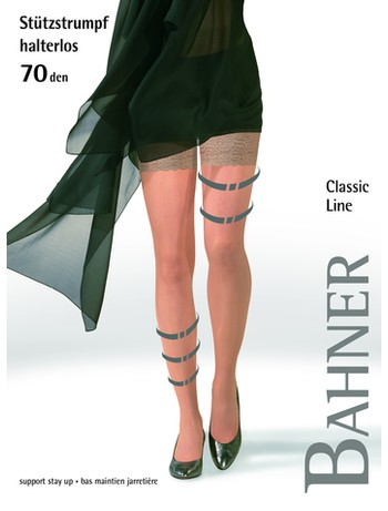 Bahner Classic Line 70 Support Stockings Compression 3