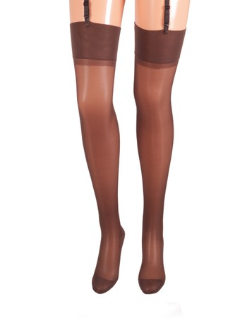 Bahner Compression Stockings fine 70 mocca