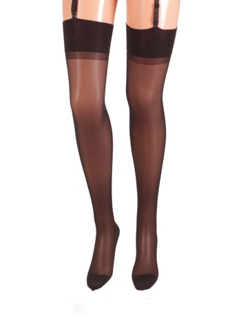 Bahner Compression Stockings fine 70 black