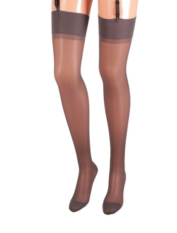 Bahner Compression Stockings fine 70 graphit