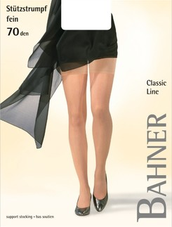 Bahner Classic Line 70 Compression Suspender Stockings