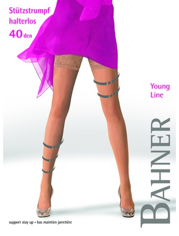 Bahner Young Line 40 Support Stockings Compression 2