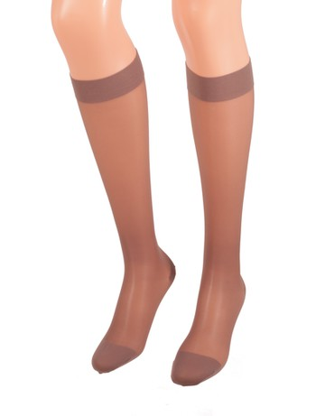 Bahner Classic Line Compression Knee High Socks diamond