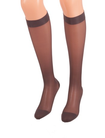 Bahner Classic Line Compression Knee High Socks graphit