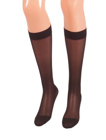 Bahner Classic Line Support Knee-Highs black