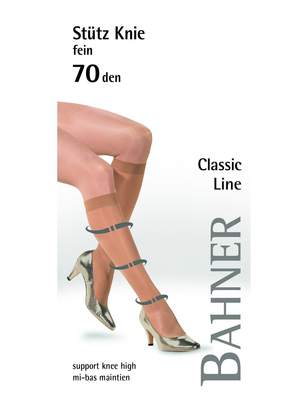 ff9e4428cef Bahner Classic Line Compression Knee High Socks