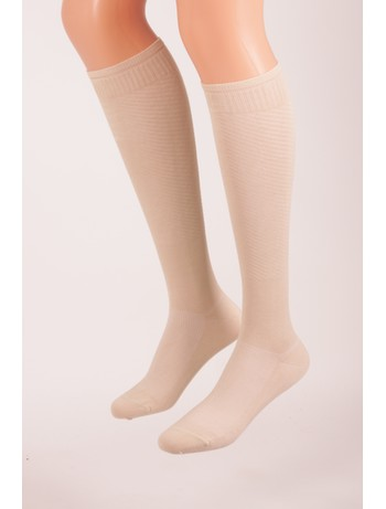 Bahner Power Line Support Knee High Socks Compression 3 beige