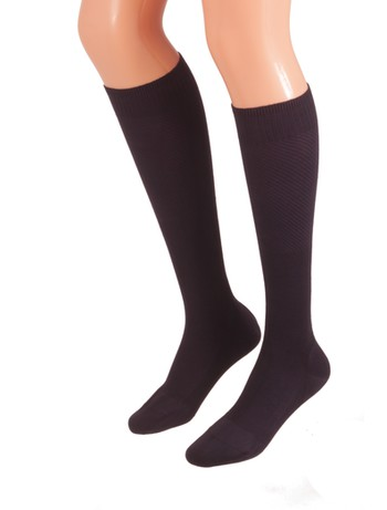 Bahner Power Line Support Knee High Socks Compression 3 navy