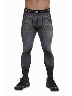 Bas Black Hardmen 200 Men Leggings Sport