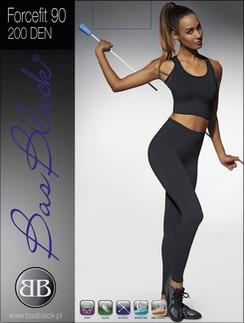 Bas Black 200 Forcefit 90 Woman Leggings Sport
