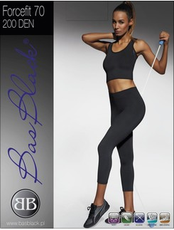 Bas Black 200 Forcefit 70 Woman Leggings Sport