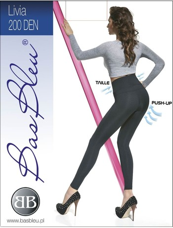 Bas Bleu Livia - Leggings black