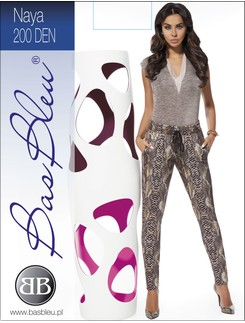 Bas Bleu Naya wide leggings in snake skin design