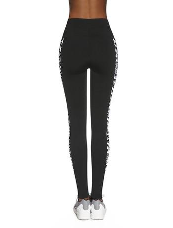 Bas Black Irbis - Leggings black+multicolor