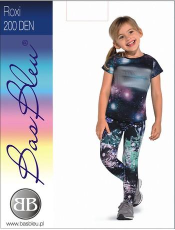 Bas Bleu Roxi children leggings Galaxy