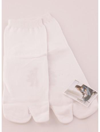 Bonnie Doon Big Toe Socks white