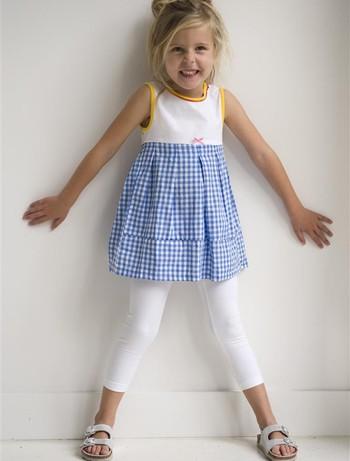 Bonnie Doon Basic Leggings for Children white
