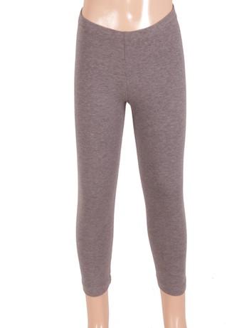 Bonnie Doon Basic Leggings for Children medium grey heather