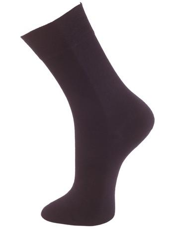 Bonnie Doon Cotton Comfort Socks navy