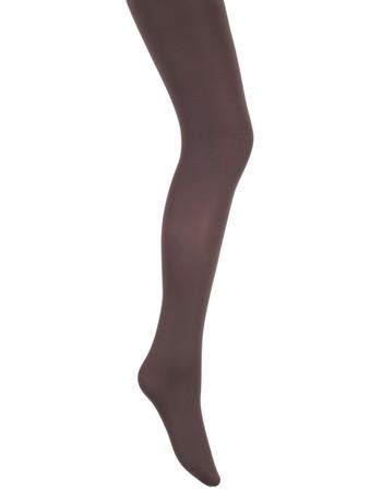 Bonnie Doon Basic Opaque Tights for Children dark grey