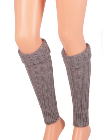 Bonnie Doon Sleever Arm Warmers medium grey heather