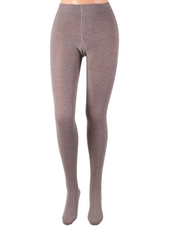 Bonnie Doon Jumeaux Tights for Children medium grey heather