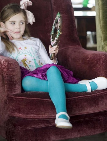 Bonnie Doon Jumeaux Tights for Children earth light