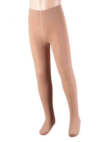 Bonnie Doon Jumeaux Tights for Children taupe heather