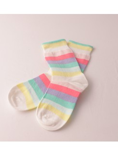 Bonnie Doon Rainbow Children's Socks
