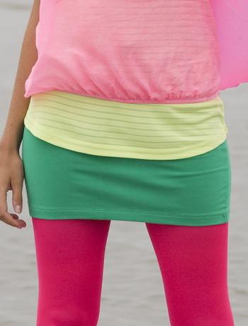 Bonnie Doon Cotton Lycra Skirt lucky