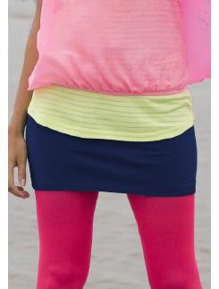 Bonnie Doon Cotton Lycra Skirt