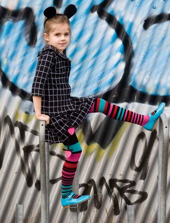 Bonnie Doon Composed Stripes Tights