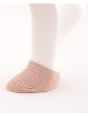 Bonnie Doon Toe Cover Socks sand
