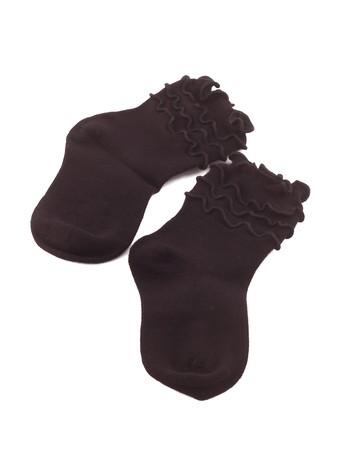 Bonnie Doon Frou Frou Children's Socks black