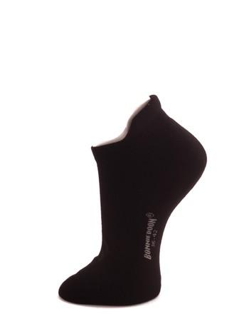 Bonnie Doon Cushion Ankle Socks black