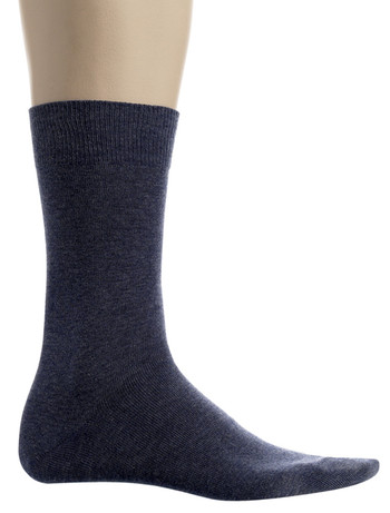 Bonnie Doon Cotton Socks for Men black