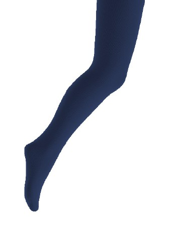 Bonnie Doon Chou Chou Children's Cotton Tights navy