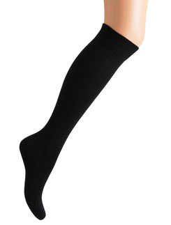 Bonnie Doon Wool/Cotton Knee-Highs