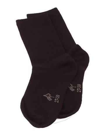 Bonnie Doon Children's Cotton Socks black