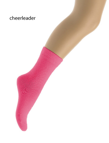 Bonnie Doon Children's Cotton Socks cheerleader
