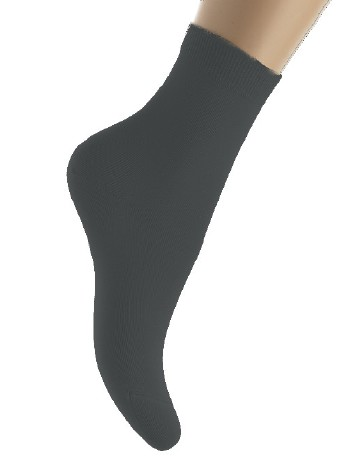 Bonnie Doon Pure Cotton Socks black