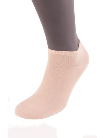 Bonnie Doon Cotton Short Socks sand